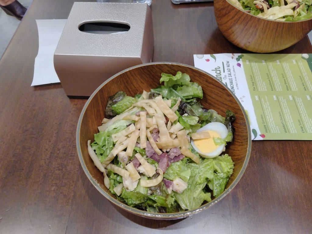 Caesar Salad enak dan menyehatkan di Gandaria city