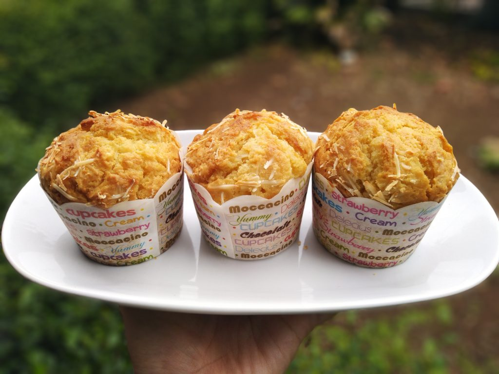 Muffin tape keju enak nan lembut ala Ainurs Kitchen