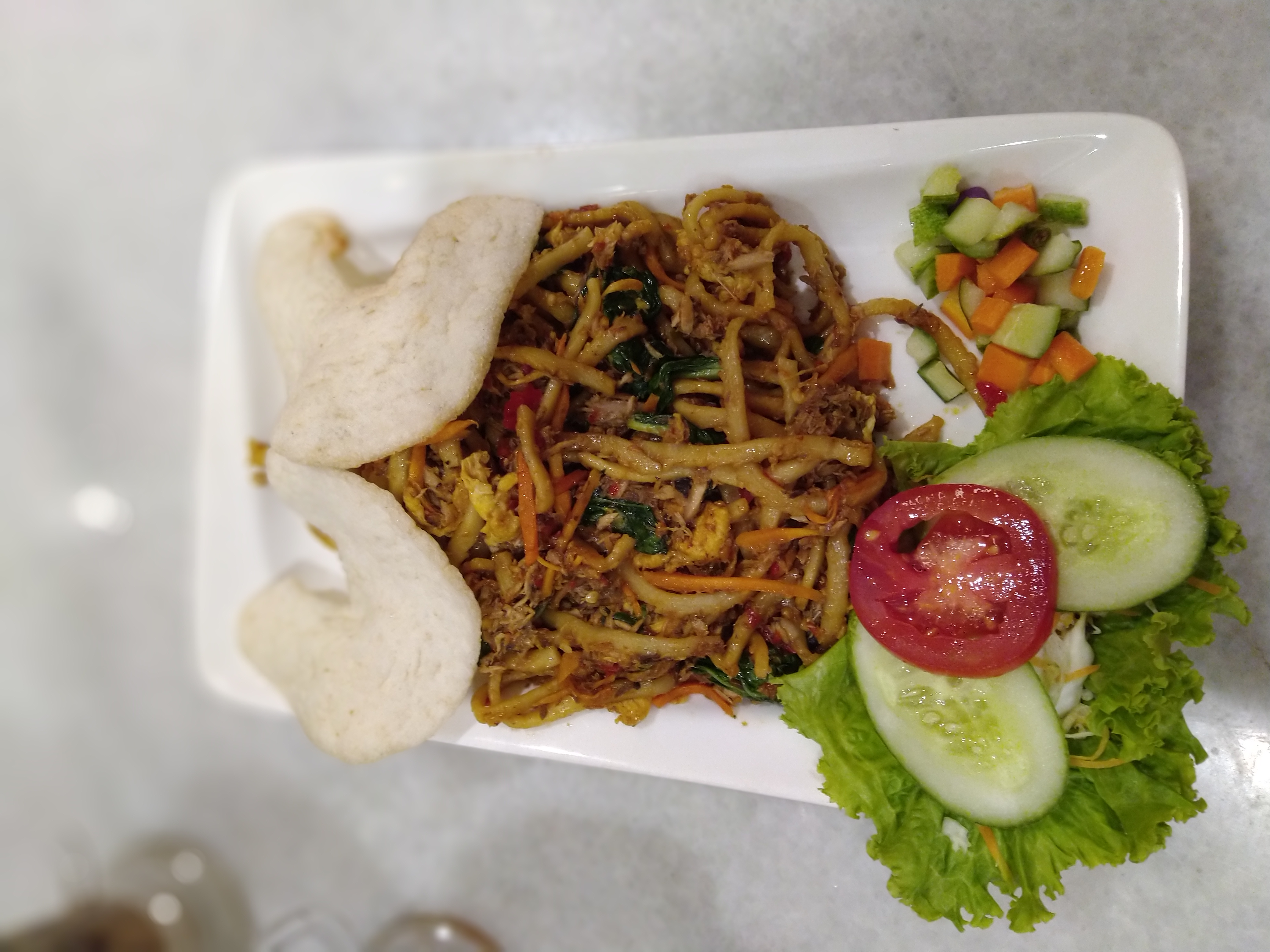 Mie Cakalang Nat's Kitchen yang Rekomen banget, Pedas dan Nikmat