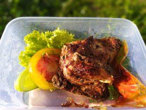 Kulineran Ayam Panggang Rempah Al Baik di Jalan Raya Fatmawati