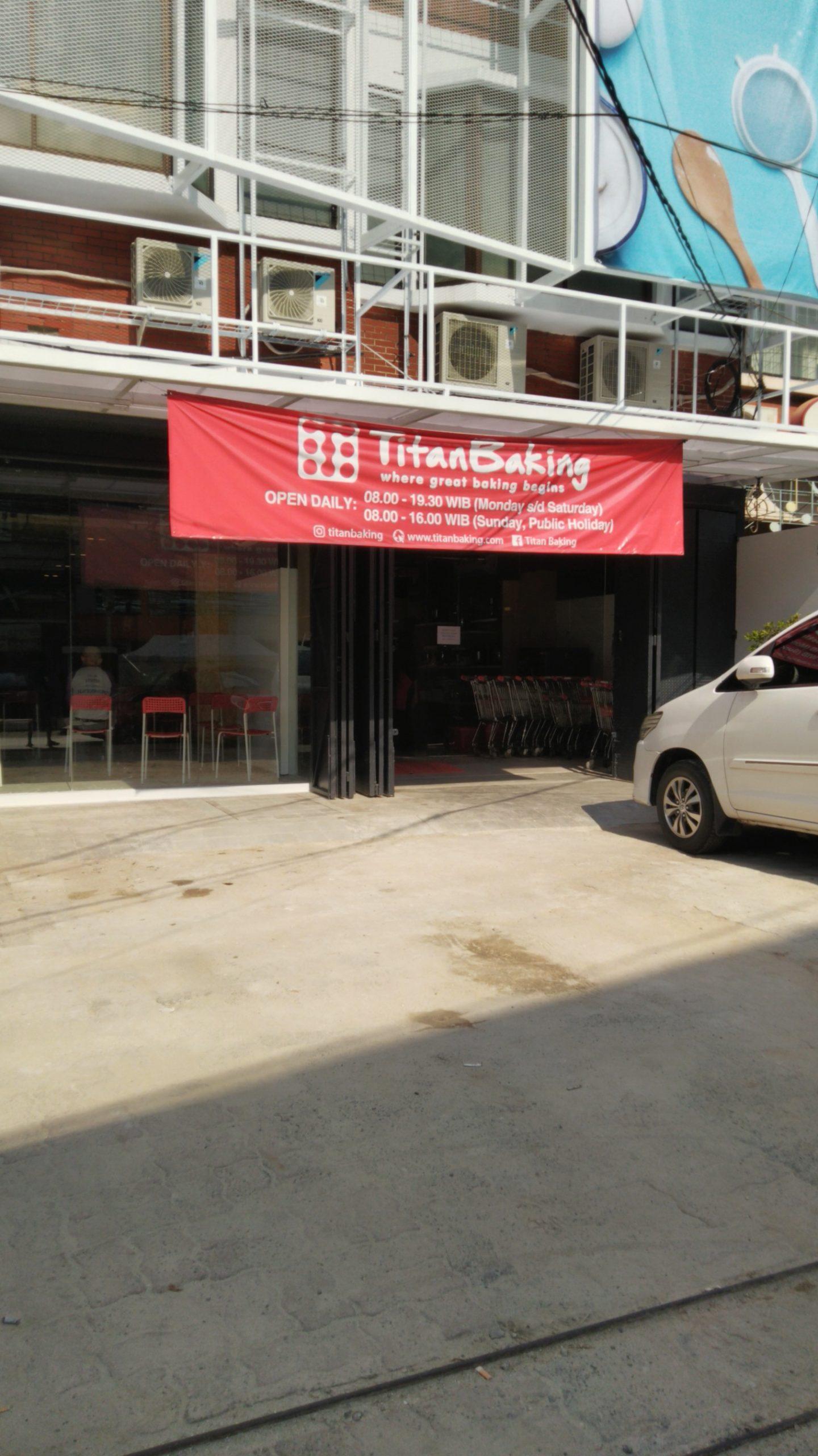 Toko Bahan Kue Titan Fatmawati Pindah ke Lokasi Baru