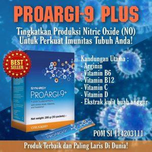 Mengurangi Resiko Serangan Jantung dengan Proargi-9