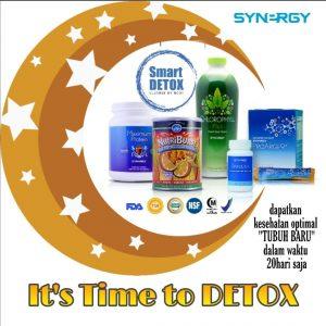 Solusi Perut Ramping dalam 20 Hari dengan Smart Detox