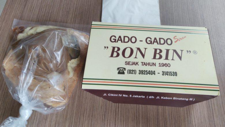 Gado – gado Bon Bin Saat Ini Legenda Kuliner Jakarta Sejak Dahulu