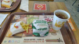 Nyobain Plant Based Food ala Burger King - Varian Baru Burger